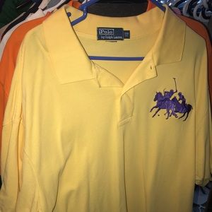Authentic Large Logo Polo with 2 Jockeys